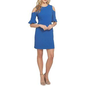 NWT Nordstrom CeCe Cold Shoulder Fit & Flare Dress